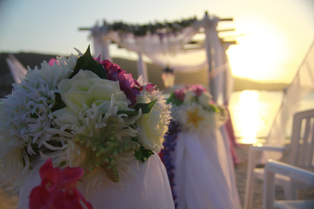 beach wedding course