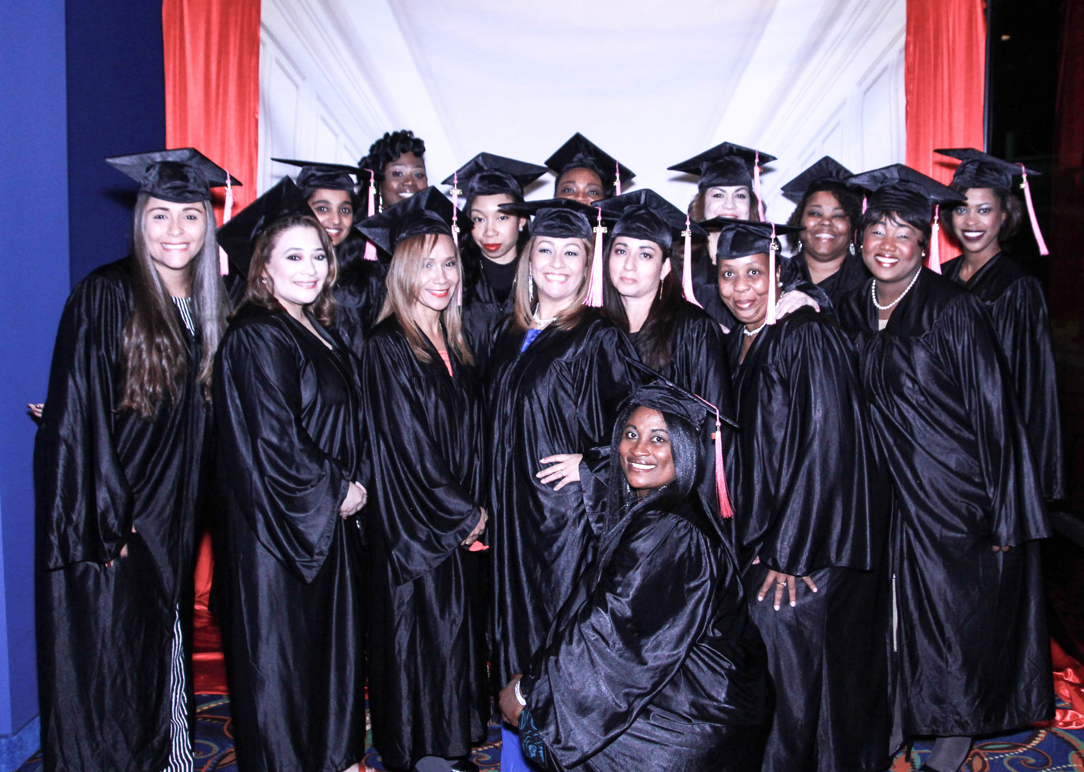 event decorating academy graduation pictures