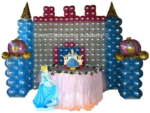 Event decorating academy professional event decor courses for Balloon decoration course